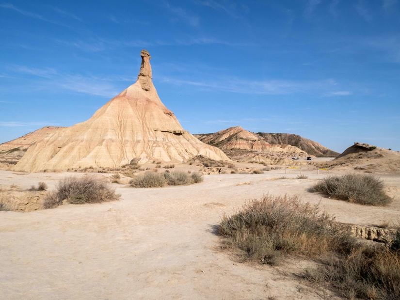 Las Bardenas Reales, petit désert deNavarre