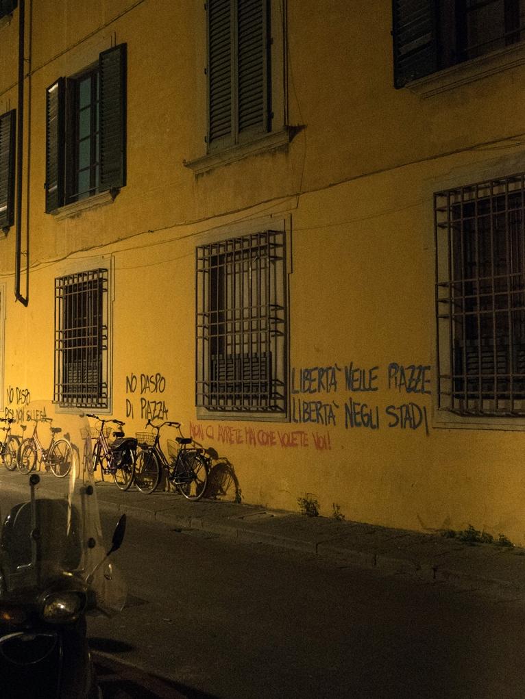 Dans les rues ... l'expression jusque sur les murs